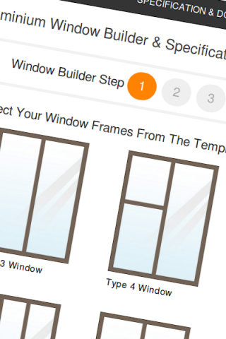 Window Builder Step 1