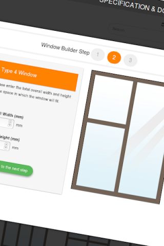 Window Builder Step 2